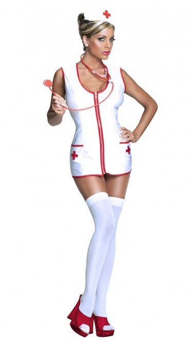 Strip show of sexy nurses