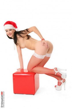 Naked gift for Happy New Year! - Christmas Girls Hot Babes Sexy Uniform