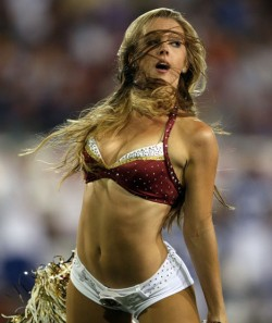 Hottest NFL Cheerleaders - Cheerleaders Hot Babes Sexy Uniform
