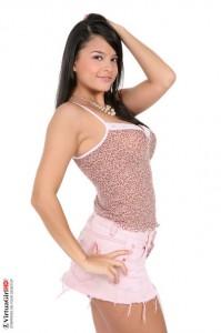 Mandy Match sexy dress - Brunette iStripper Mandy Match