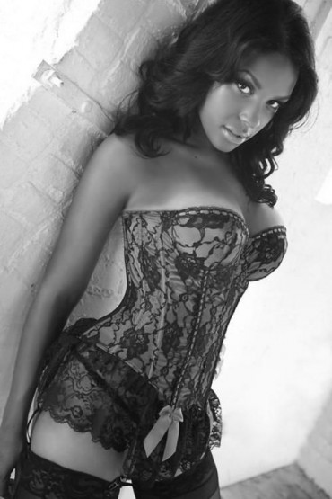 Hot black women in lingerie