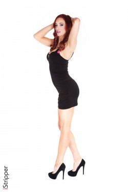 Trophy Girlfriend - Jayden Cole Redhead Babe iStripper