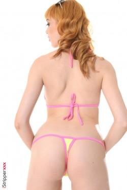 Red sexy fantasy - Anny Aurora Redhead Babe iStripper